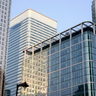 Picture - Canary Wharf Centre in London.