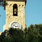 Picture - Clock tower on the La Tour Du Suquet in Cannes.