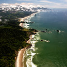 Picture - Aerial View of Cannon Beach.