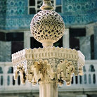 Picture - Ornament in the Topkapi Palace Garden in Istanbul.