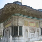 Picture - Elaborately decorated Fountain of Ahmet III in Topkapi Palace in Istanbul.