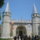 Picture - The Gate of Salutation in the Topkapi Palace in Istanbul.