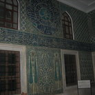 Picture - Decorated room with Iznik tiles in Topkapi Palace in Istanbul.