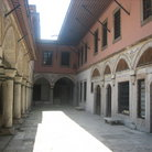 Picture - Courtyard of the Concubines in Topkapi Palace in Istanbul.