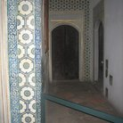 Picture - Isnik decorated tiles in the Hall of Ablution Fountain in Topkapi Palace in Istanbul.