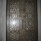 Picture - The metal door in Baghdad Pavillion in Topkapi Palace in Istanbul.