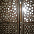 Picture - Detail of the door with cut crystal in Topkapi Palace in Istanbul.