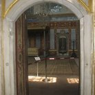 Picture - Interior view of the throne in the Imperial Hall in Topkapi Palace in Istanbul.