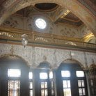 Picture - The hand painted ceilings in the Imperial Hall in Topkapi Palace in Istanbul.