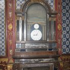 Picture - Large clock in the Exhibition of Clocks in Topkapi Palace in Istanbul.