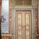 Picture - Beautiful hand painted door in Topkapi Palace in Istanbul.