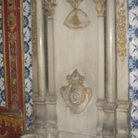 Picture - Marble niche in the Topkapi Palace in Istanbul.