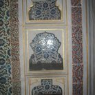 Picture - Niches in the wall in Topkapi Palace in Istanbul.