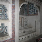 Picture - Iznik tiled bath in the Topkapi Palace in Istanbul.