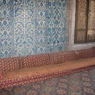 Picture - Sitting sofas in the Topkapi Palace in Istanbul.