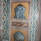 Picture - Colorful niches in the wall in the Topkapi Palace in Istanbul.