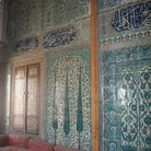 Picture - Detail of the tile walls in the Topkapi Palace in Istanbul.