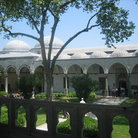 Picture - The Conqueror's Pavillion in Topkapi Palace in Istanbul.