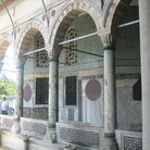 Picture - Open recess of the Yerevan Kiosk in Topkapi Palace in Istanbul.