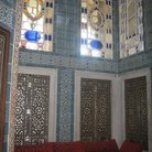 Picture - Stained glass windows in Topkapi Palace in Istanbul.