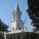 Picture - The Tower of Justice in Topkapi Palace in Istanbul.