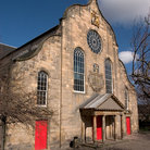 Picture - An old church at Canongate.