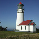 Picture - The lighthouse at Cape Blanco.