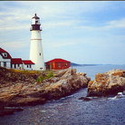 Picture - The Portland Head Lighthouse in Portland.