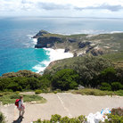 Picture - View over the Cape of Good Hope.