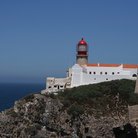Picture - The lighthouse on Cape St Vincent.