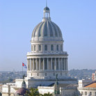 Picture - Dome of the Capitolio in Havana.