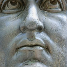 Picture - Close up of a Constantine I statue at the Capitoline Museum, Rome.