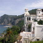 Picture - Buildings on the coast of Capri.