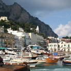 Picture - A town on the Island of Capri.
