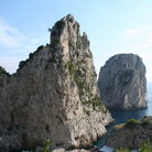 Picture - Faraglioni Rocks on the island of Capri.