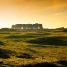 Picture - The famous Carnoustie Golf Course.