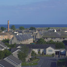 Picture - The resort town of Carnoustie.