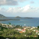 Picture - View over the island of Carriacou.