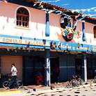 Picture - Colorful building in small town of Cariaco.