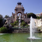 Picture - Cascades with allegorical figures in Parc de la Ciutadella in Barcelona.