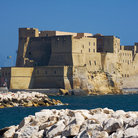 Picture - View of the Castel dell'Ovo in the Bay of Naples.