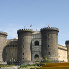 Picture - Castel Nuovo at Naples.