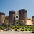 Picture - The Castel Nuovo in Naples.