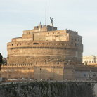 Picture - The Castel Sant'Angelo built between 135-139 in Rome.