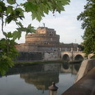 Picture - The Castel Sant'Angelo along the river in Rome.