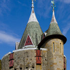 Picture - Tower of the Castell Coch, Cardiff.