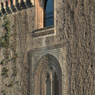 Picture - Detail of the Castle in Milan.