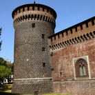 Picture - The Castell Sforzesco in Milan, which now houses a number of museums.