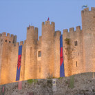 Picture - Obidos Castle in the evening.
