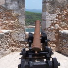Picture - Cannon in a fortress El Morro of Santiago de Cuba.